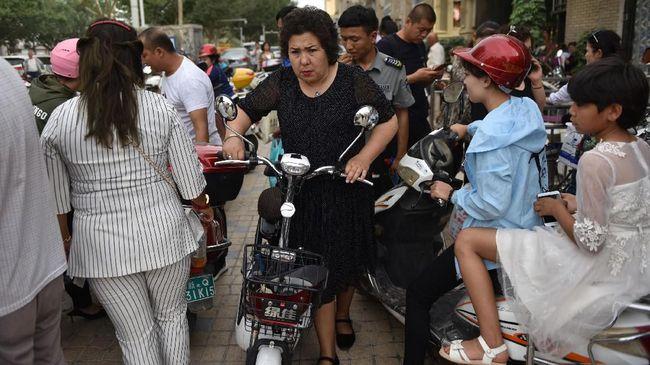 AS akan mengangkat isu pelanggaran HAM Uighur di sidang Majelis Umum PBB. Namun, semuanya tergantung kesepakatan perang dagang dengan China.