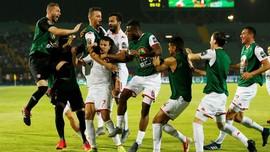 FOTO: Euforia Empat Tim di Semifinal Piala Afrika 2019