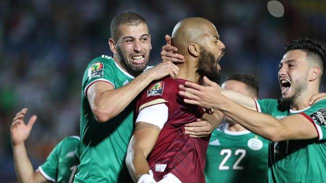 Dua toko di Paris dijarah ketika fan Aljazair merayakan kelolosan Riyad Mahrez dan kawan-kawan ke semifinal Piala Afrika 2019 usai mengalahkan Pantai Gading.