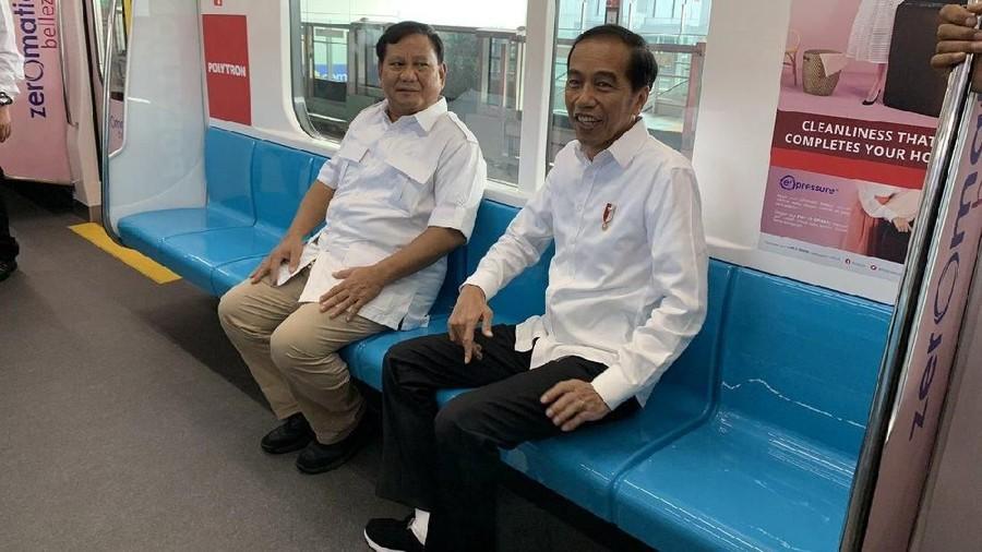 Tanggapan Seleb atas Pertemuan Jokowi & Prabowo di MRT