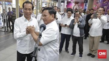 'Misteri' Negosiasi Politik di Balik Pertemuan Jokowi-Prabowo