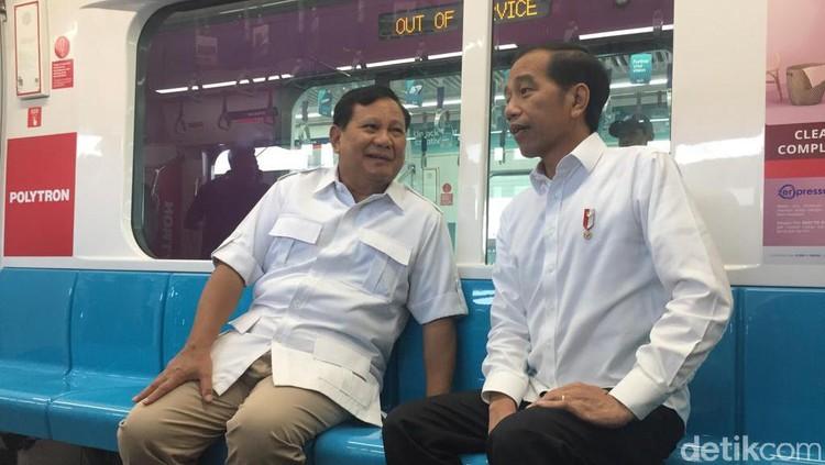 Dari pertemuan Prabowo dan Jokowi hari ini, Sabtu (13/7/2019), ada nilai yang bisa diambil anak sebagai pelajaran, Bun: meminta maaf.