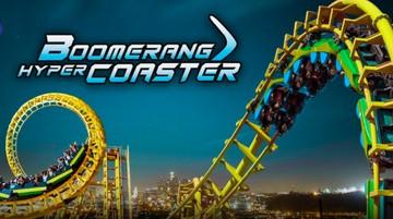 Seru! Pacu Adrenalin di Boomerang Coaster Trans Studio Cibubur