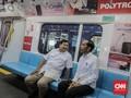Prabowo Saat Naik MRT: Seperti di Luar Negeri