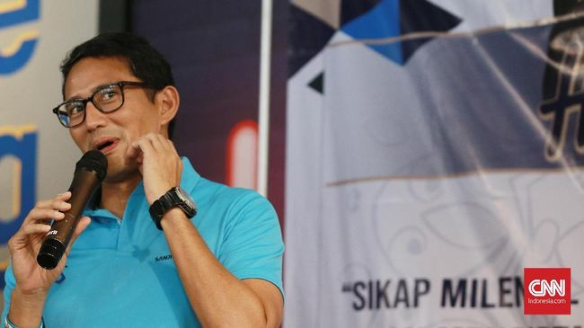 Menparekraf Sandiaga Uno mengatakan uang Rp150 triliun kabur ke luar negeri per tahun akibat hobil plesir masyarakat Indonesia ke luar negeri.