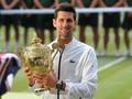 Djokovic Makan Rumput Usai Tekuk Federer di Final Wimbledon