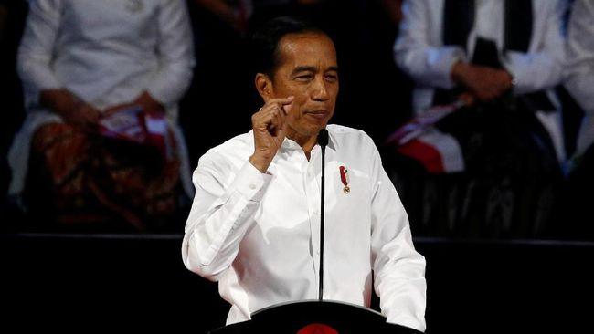 Pidato pertama Jokowi sebagai presiden terpilih dinilai masih banyak mengulang narasi lama dan kurang berempati karena mengesampingkan isu hukum dan HAM.