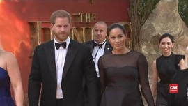 VIDEO: Debut Pangeran Harry dan Meghan Markle di Karpet Merah