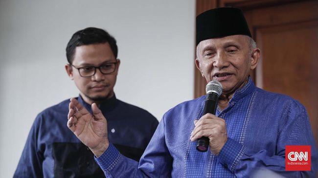 Diketahui, Amien Rais menjadi ketua majelis syuro Partai Ummat, sementara menantunya menjadi Ketua Umum.