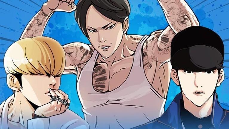 Delapan komik Webtoon yang mendapatkan rating tertinggi. Ada komik favorit Insrtizen?