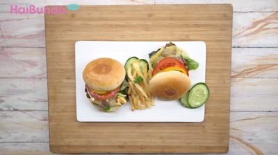 Resep Duck Cheese Burger, Cara Beda Menikmati Daging Bebek