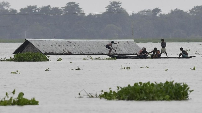 115 Tewas, Puluhan Hilang Akibat Banjir Terparah India