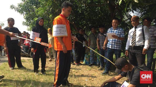 Saat berkas kasus penganiayaan siswa di SMA Taruna Indonesia dinyatakan lengkap, tersangka membantah melakukannya dan menyebut korban kesurupan.