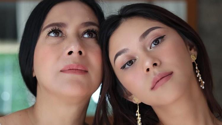 Lydia Kandou dan Nana serta Naysila Mirdad