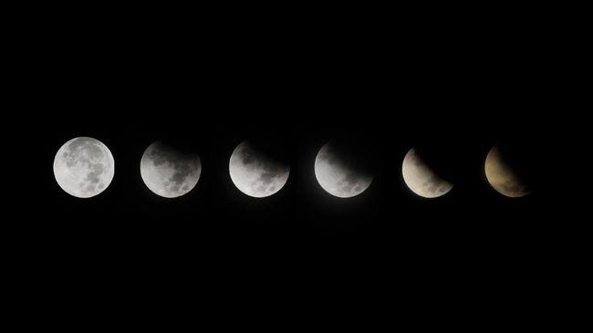 Waktu Puncak Gerhana Bulan Sebagian Malam Ini