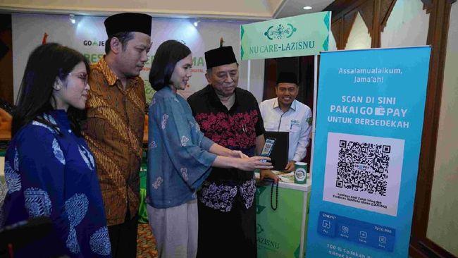 Gojek menggandeng Nahdlatul Ulama untuk pembayaran zakat, infak dan sedekah dengan sedekah digital.