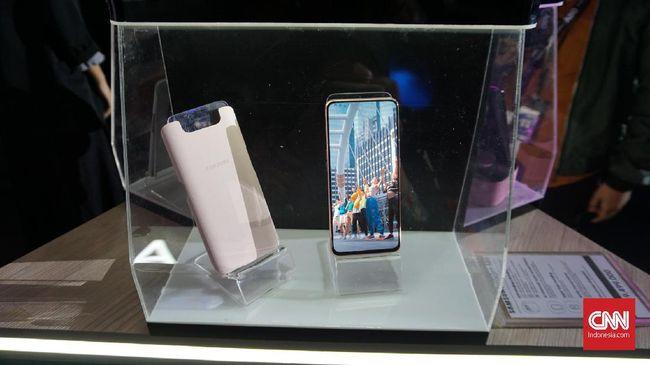 Samsung mengatakan pihaknya tidak menyediakan garansi khusus untuk modul kamera putar Galaxy A80 jika terkena goresan.