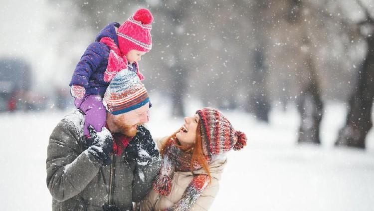Inilah para Bunda pemenang HaiBunda Happy Hour dengan tema liburan winter yang bikin anak senang.
