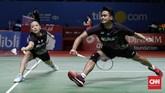 Indonesia meloloskan lima wakil ke perempat final Indonesia Open 2019 di Istora Senayan, Kamis (18/7). Tiga dari lima wakil itu berasal dari ganda putra.