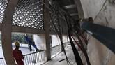 Pemerintah merenovasi dan memperbaiki struktur bangunan Masjid Istiqlal dengan anggaran mencapai sekitar Rp465 miliar.