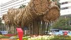 VIDEO: Instalasi Bambu Rp550 Juta di Bundaran HI Dibongkar