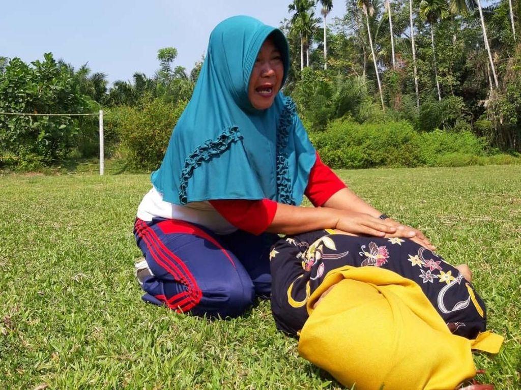 Simulasi Penanganan Bencana di Bengkulu