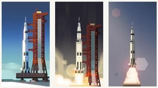 Roket Apollo 11 yang Antar Manusia Pertama ke Bulan Dilelang