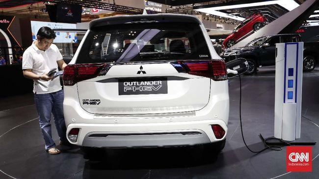 Mitsubishi Kucurkan Dana Miliaran Bangun 'SPBU Mobil Listrik'