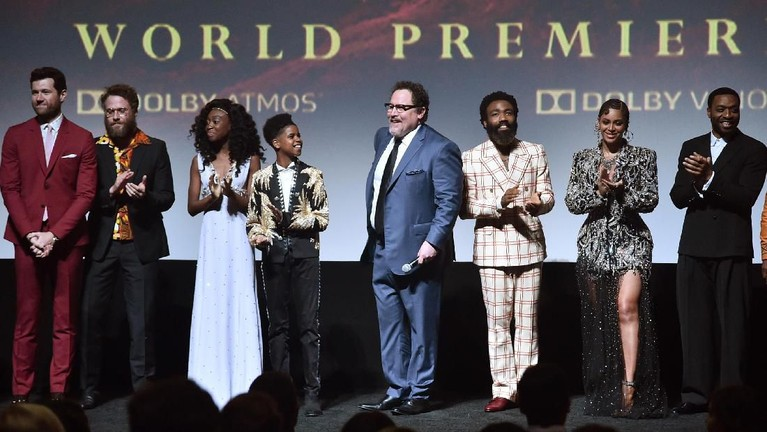 Beberapa aktor dan aktris yang berperan dalam film ini sangat berterima kasihketika para penggemar bahagia menonton film The Lion King ini.