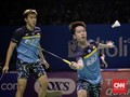 Aksi Tengil Kevin Sanjaya Warnai Semifinal Fuzhou China Open