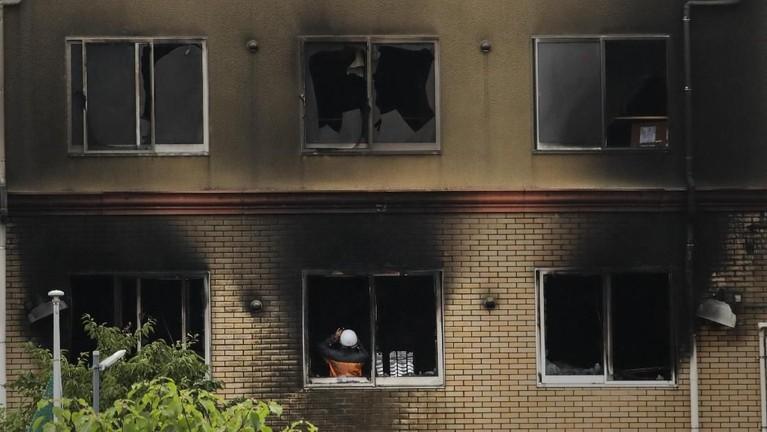 Kebakaran yang terjadi pada Kamis (18/7) sekitar pukul 10.30 waktu Jepang ini disebut-sebut adalah kecelakaann yang disengaja oleh pihak yang tak bertanggungjawab.