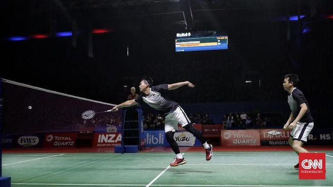 Ganda putra Indonesia, Mohammad Ahsan/Hendra Setiawan meminta doa supaya all Indonesian final bisa terjadi di nomor ganda putra Indonesia Terbuka 2019.