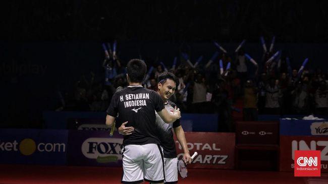 Pelatih ganda putra Indonesia, Herry Iman Pierngadi, menyebut all Indonesian final di Indonesia Open 2019 merupakan hadiah buat masyarakat tanah air.