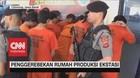 VIDEO: Penggerebekan Rumah Produksi Ekstasi