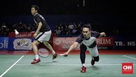 Ahsan/Hendra Tak Kecewa Kalah di Final BWF Tour Finals