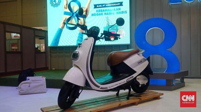 Motor Listrik Rakitan Semarang Diklaim Bisa Tempuh 120 Km