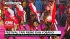 VIDEO: Festival Tari Remo dan Yosakoi di Surabaya