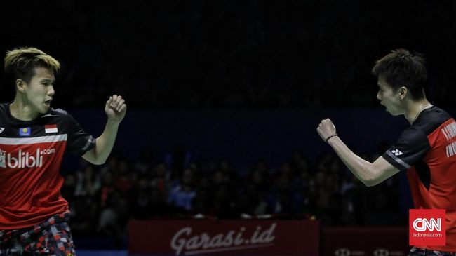 Ganda putra Indonesia, Kevin Sanjaya Sukamuljo/Marcus Fernaldi Gideon bertekad mempertahankan gelar juara Fuzhou China Open.