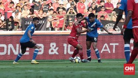 Piala Indonesia: PSM Unggul 1-0 Atas Persija di Babak Pertama