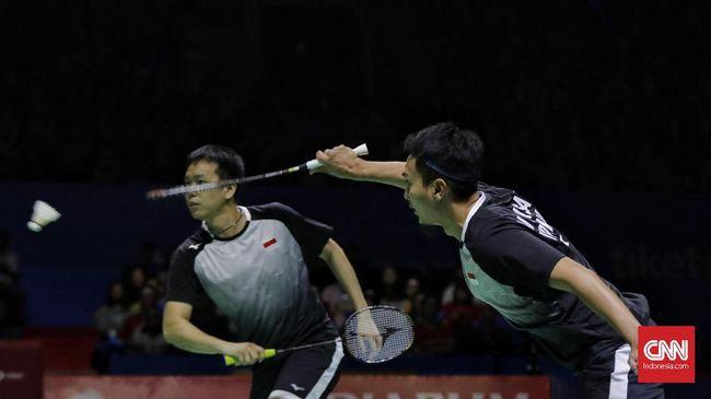 Mohammad Ahsan/Hendra Setiawan lolos ke perempat final Yonex Thailand Open 2020 usai mengalahkan Rankireddy Satwiksairaj/Chirag Shetty.