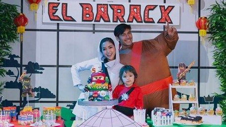 Seru! Momen Pesta Ultah ke-5 Putra Jessica Iskandar, El Barack