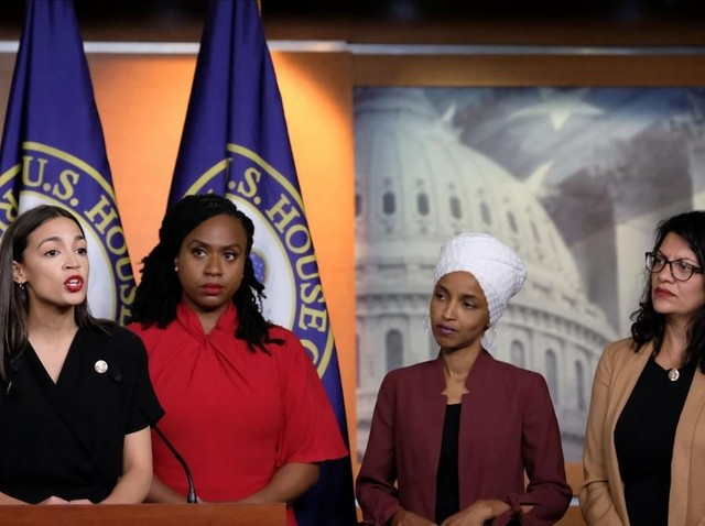 Sosok 4 Wanita 'The Squad' Anggota Kongres AS yang Ribut dengan Trump