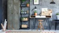 Jika Bunda penyuka gaya industrial, desain berikut bisa jadi inspirasi. Bunda juga bisa mendaur barang bekas untuk jadi perabot. (Foto: iStock)