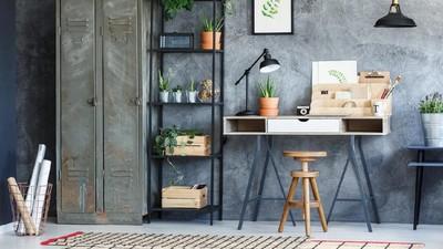 7 Ide Desain Workspace di Rumah yang Hijau & Minimalis