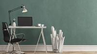 Tembok yang berwarna hijau bisa menjadi obat bagi mata lelah usai berjam-jam di depan layar laptop atau PC. (Foto: iStock)
