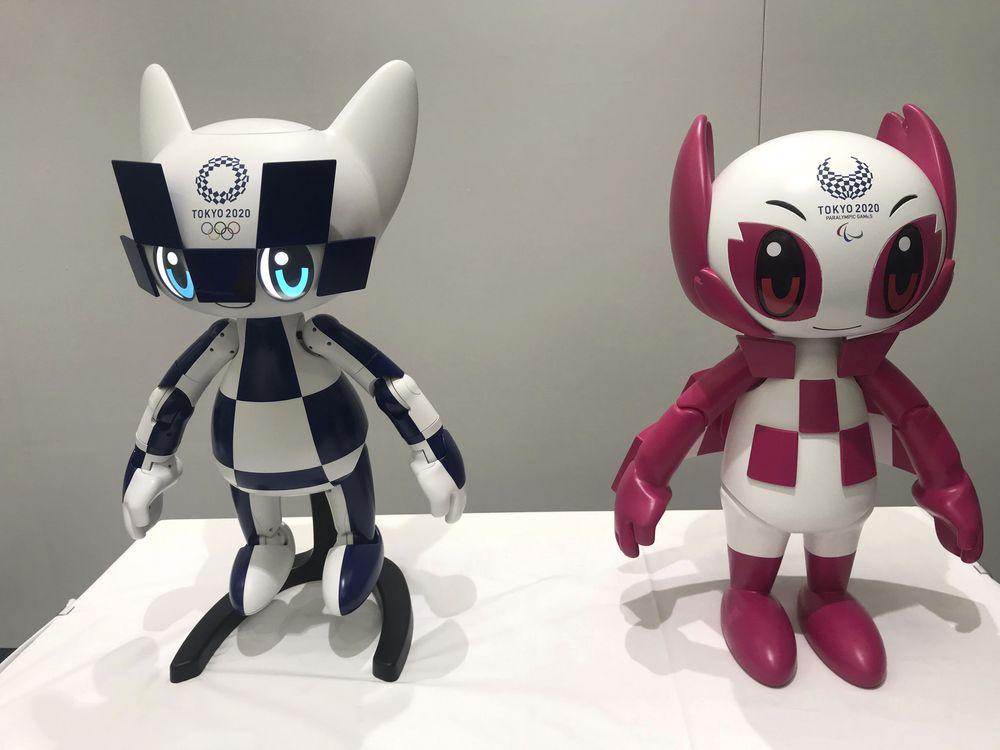 Robot maskot,