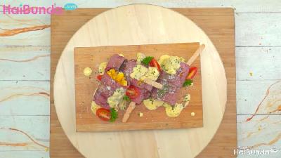 Resep Steak Jagung Daging Asap, Camilan Sehat nan Lezat