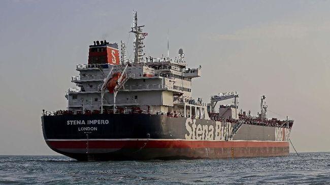 Proses pembebasan tanker milik perusahaan Swedia berbendera Inggris, Stena Impero, yang ditawan sejak 19 Juli lalu oleh pemerintah Iran berjalan alot.