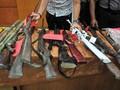 Warga Serahkan Senjata Rakitan Sisa Konflik Ambon ke TNI