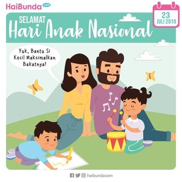 Selamat Hari Anak Nasional! Yuk Kembangkan Bakat Si Kecil, Bun